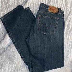 Men's Levi's 501 straight leg